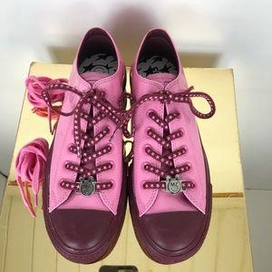Converse Womens 8 Pink Miley Cyrus Chuck Taylor